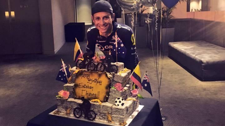 Chaves: felices 27 años en la élite del ciclismo mundial