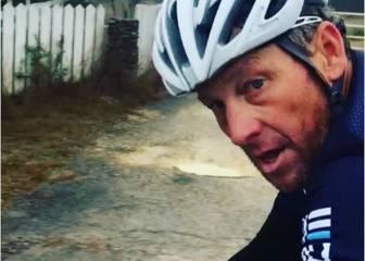 Lance Armstrong rueda a ritmo de profesional con Craddock