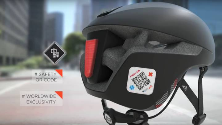 Messenger, un casco que te ayuda en caso de accidente