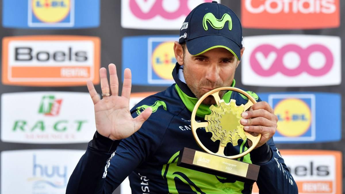 Valverde, a dos victorias de Eddy Merckx en las Ardenas