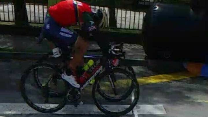 Nibali se lleva la general... ¡en un sprint intermedio!