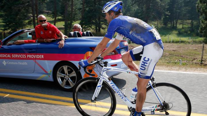 El ciclista del UnitedHealthCare Daniel Summerhill, en una imagen de archivo.