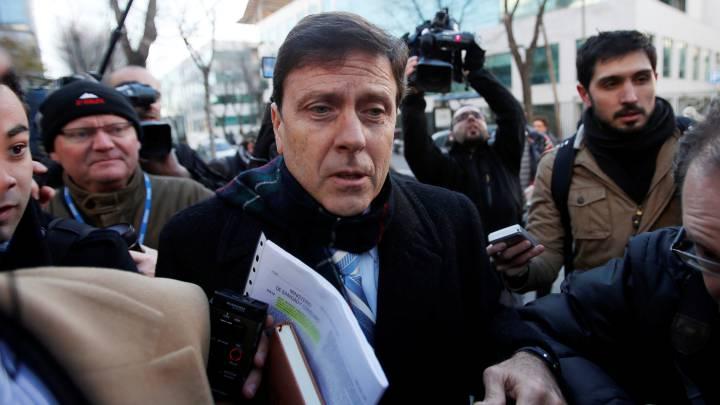 Eufemiano Fuentes a la entrada del juicio por la Operación Puerto.