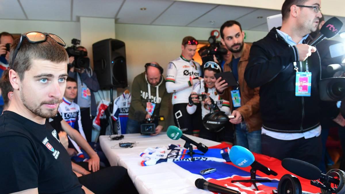 Mundial de Ciclismo: Peter Sagan se corona por tercera vez campeón