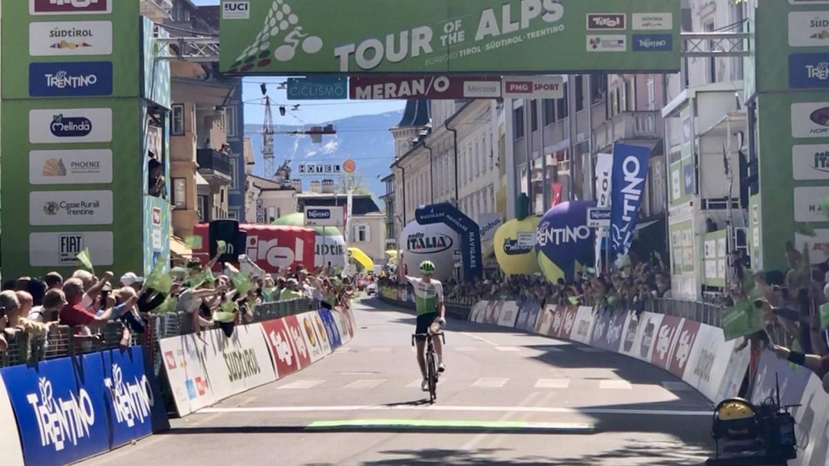 Tour de los Alpes: Superman López terminó tercero y Froome fue cuarto