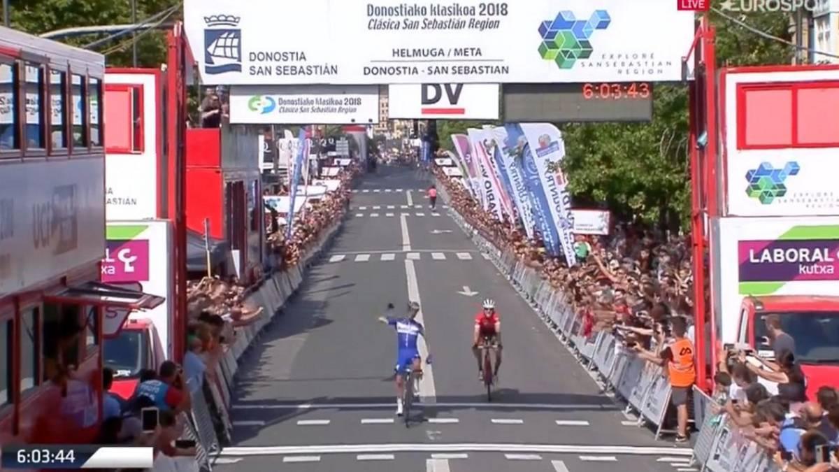 fd47a545292c Resumen de Clásica de San Sebastián 2018  Alaphilippe se impone  Landa y  Bernal