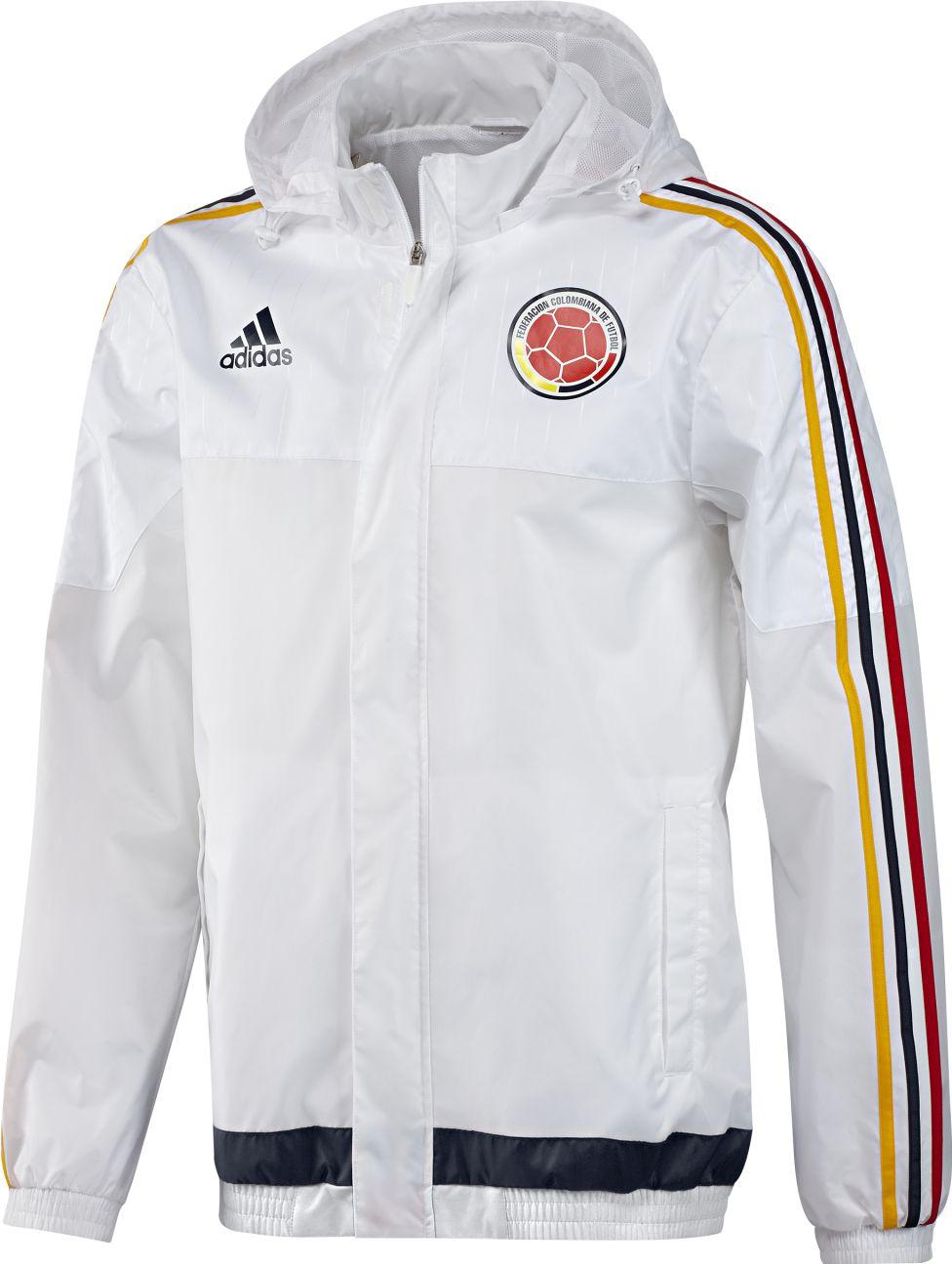chaqueta adidas original blanca