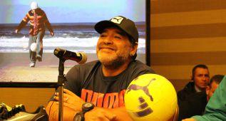 """Maradona: """"Con Falcao Colombia habría ganado el Mundial"""""""
