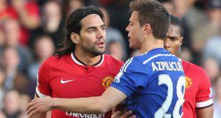 Falcao, corajudo y un tiro en el palo contra el Chelsea