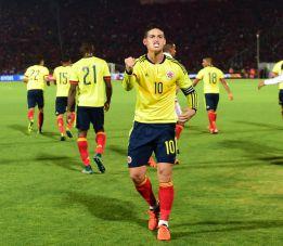 Colombia coraje, corazón y James: empata con Chile