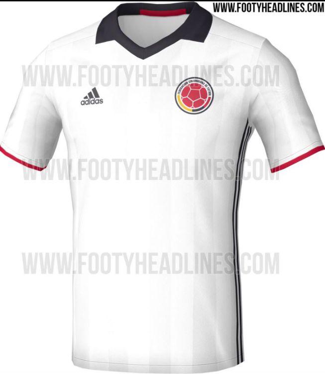 Selección Colombia Se filtra la que sería la nueva camiseta de la ... 17c6f7d8efe33