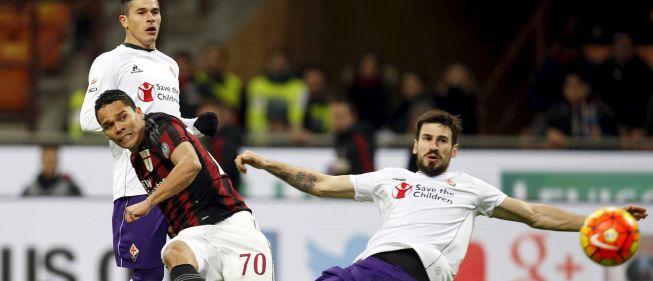 Milan se rige por la ley Bacca: si hace gol no pierde
