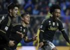 Cuadrado estelar: gol y triunfo seguido número 14 para la Juve