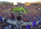Fans de James se hacen presentes en el Super Bowl
