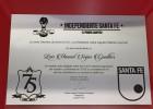 Santa Fe homenajea a Seijas por el 11 ideal de América