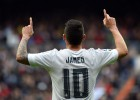 Un zurdazo implacable de James pone de pie al Bernabéu