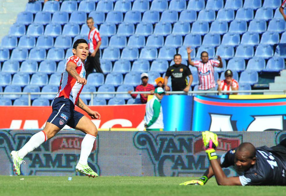 Junior vs Jaguares | Junior mantiene el liderato en partido en que recordó a Bacca - AS Colombia