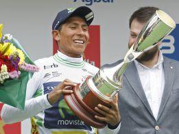 Nairo Quintana, campeón de la Vuelta a Cataluña