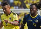 Colombia vs Ecuador: resultado y crónica del partido