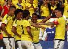 James toque, Bacca gol y Colombia golea al líder