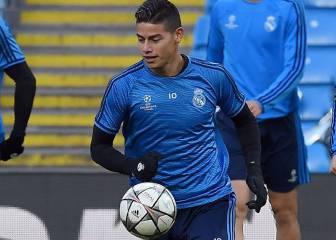 Llega el turno de James en los partidos cruciales del Madrid