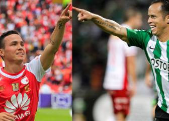 Dos venezolanos son grandes figuras en el fútbol colombiano