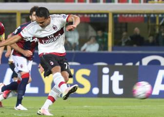 Bacca es otra vez el punto alto del Milan