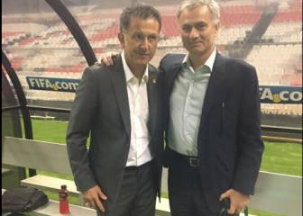 Mourinho y Osorio, dos genios de la dirección técnica juntos