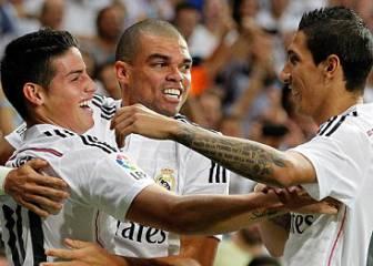 James-Di María en PSG y una sociedad que no fue en Madrid