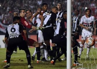 Atlético Mineiro vs Sao Paulo: Crónica y ficha del juego