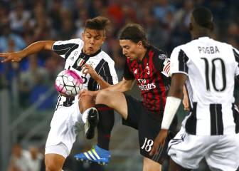 AC Milan vs Juventus: Crónica y ficha del partido