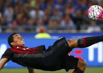 Bacca termina como el mejor de Milan, que sigue en deuda
