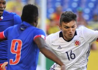 Colombia vs, Haití, mira las mejores imágenes