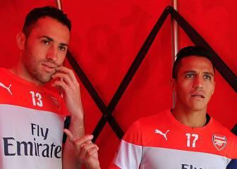 Ospina y Alexis: de compañeros en Arsenal a rivales en Copa
