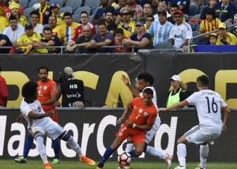 Colombia 0- 2 Chile: Resumen, resultado y goles. La Roja a la Final