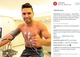 Falcao: Exámenes médicos y nuevo ciclo con AS Monaco