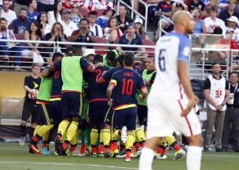 Estados Unidos vs Colombia en vivo online: Copa América 2016
