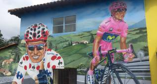 Un día del Tour de Francia en la casa de Nairo Quintana