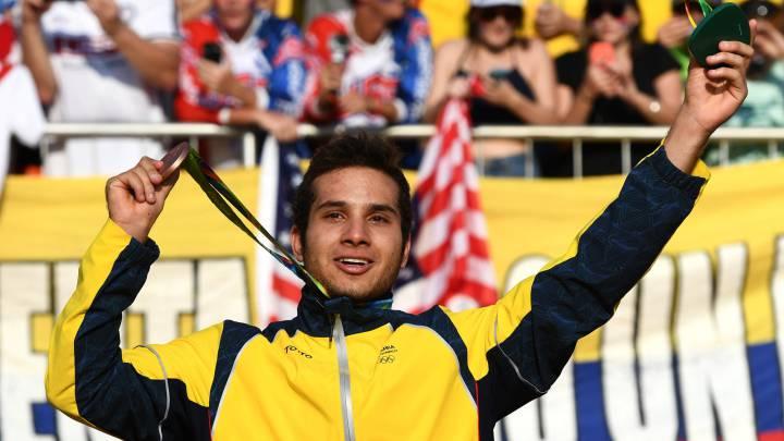 Carlos Ramírez le da el segundo bronce a Colombia en Río