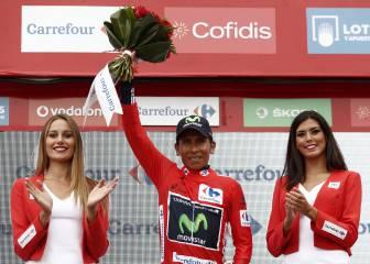 Nairo Quintana dedica 'La Roja' de La Vuelta a España a Colombia