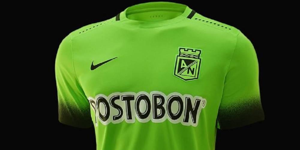 Atlético Nacional presenta oficialmente su tercera camiseta - AS ... 91c4752f9c9fd