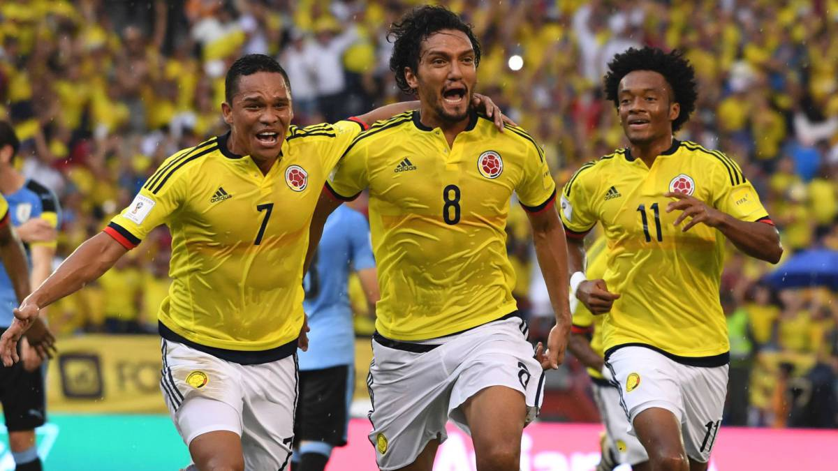 Colombia es cuarta en la Eliminatoria.