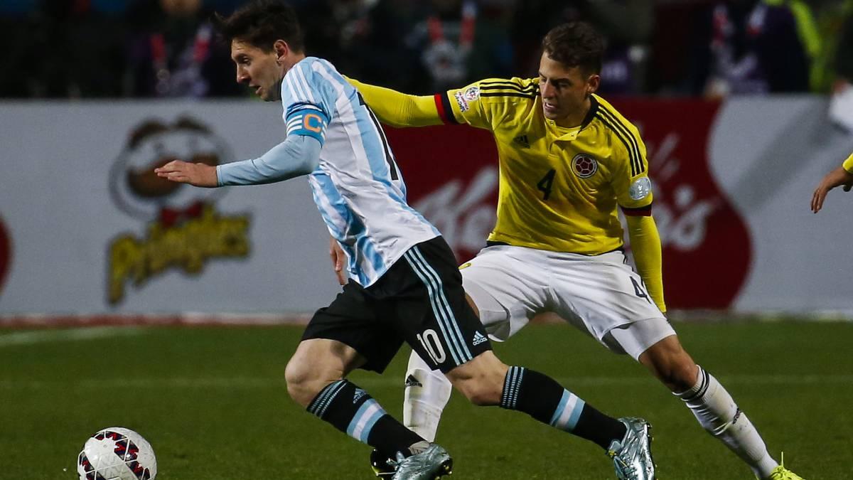 Argentina afina detalles para el juego contra Colombia