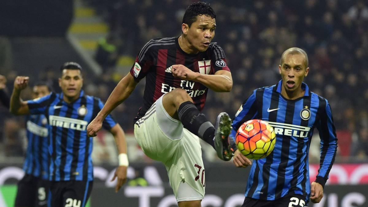 Sigue el Milan vs Inter en vivo y en directo online: Jornada 13 de la Serie A 2016/17 desde el estadio San Siro, en Milán, este domingo 20 de noviembre de 2016 a las 14:45 horas.
