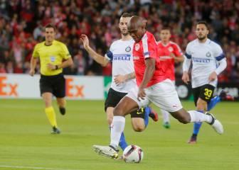Hapoel Beer Sheva 3-2 Inter: Goles y resultado- Europa League