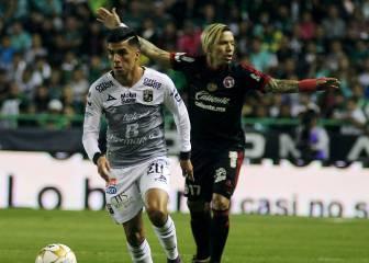 Dayro marca con Tijuana, pero queda eliminado por León