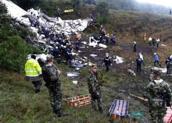 Confirmado: el avión de la Chape se quedó sin combustible