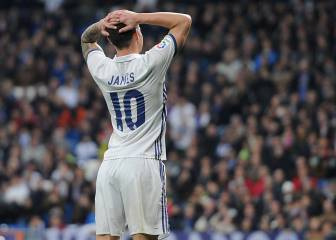 Real Madrid 1x1: James con minutos es importante