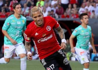 Dayro Moreno, en el 11 ideal del torneo apertura mexicano