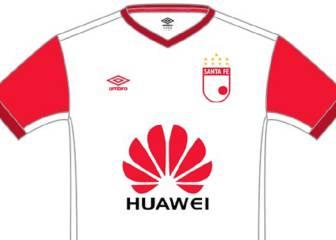 Así sería la camiseta visitante de Santa Fe en la Libertadores